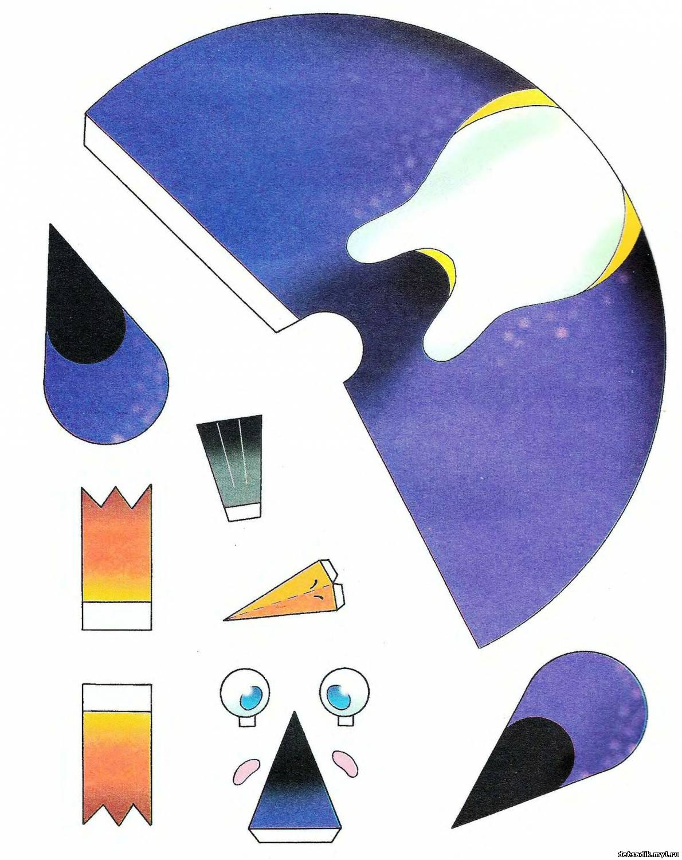 Маска пингвина своими руками из бумаги распечатать